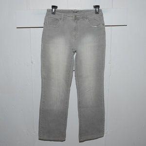 Chico's quartz womens jeans size 1 x 30.5    8150